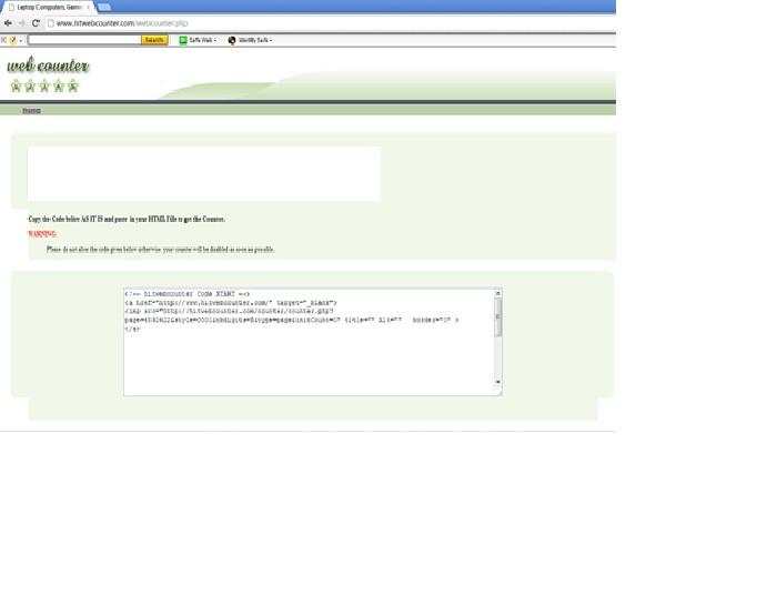 vBulletin Web Counter
